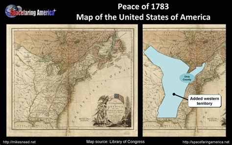 map of the united states in 1783 7 america s path to becoming spacefaring part 1