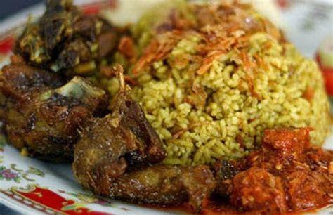 masakan tradisional nasi kebuli kambing