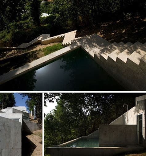 building a house on a steep slope buried brilliance stepped modern house on a slope