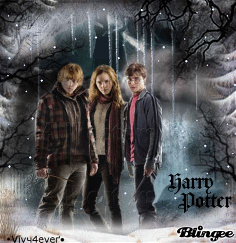harry potter winter at harry potter 7 winter by vivy4ever picture 119476755 blingee com