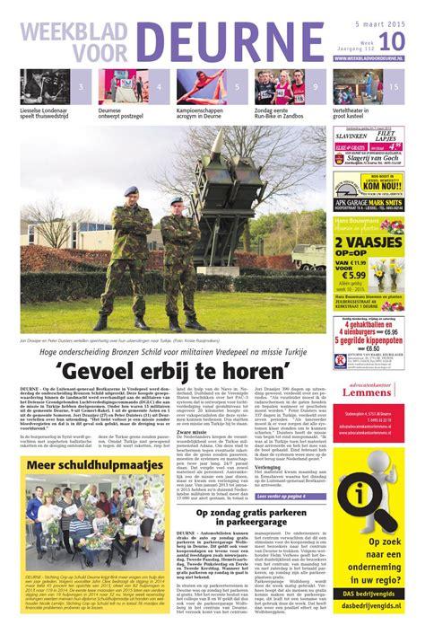 Family Garden Menu - weekblad voor deurne wk10 2015 by das publishers issuu