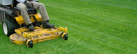 Landscaper Lawn Mower The Mitchell Agency A Cut Above The Rest