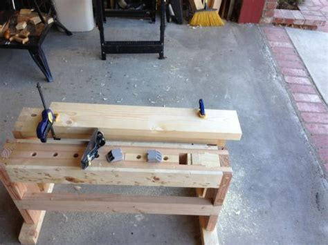 split top saw bench split top saw bench 4 adding a saw till to the saw bench