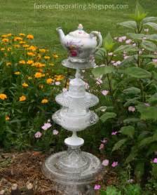 Garden Glass Forever Decorating Garden Totem