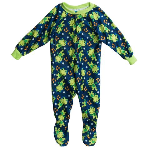 mon footed sleeper pajamas for infant boys save 46
