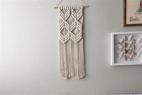 Wall Hanging Tutorial - macrame patterns macrame pattern macrame wall hanging