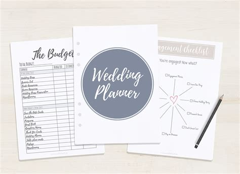 Free Wedding Planner by Free Printable Wedding Planner A5 Letter