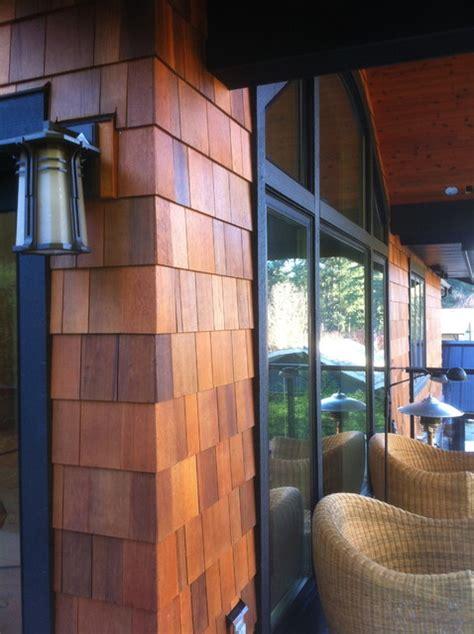 cedar siding traditional vancouver  black tree