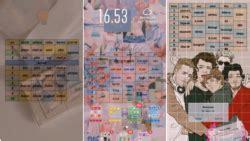 tutorial membuat wallpaper hp estetik berisi jadwal