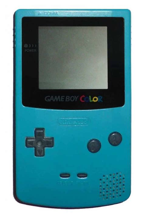 Game Boy Color Console Teal Blue Game Boy Game Nintendo For Gameboy Color