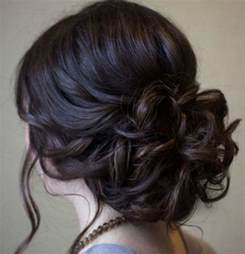 casual updo hairstyles front n back beautiful low prom updo hairstyle with loose soft curls