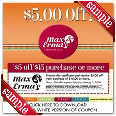 local grocery coupons printable max and ermas printable coupon december 2016 coupons and