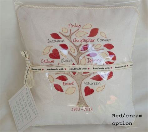 Handmade Family Tree Ideas - 16 best images about family tree cushions on