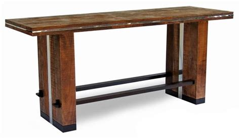 rustic collection dining table design 3 bar