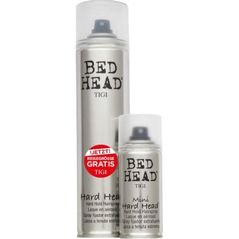 tigi bed head hard head aktion tigi bed head hard head hairspray 385 ml gratis
