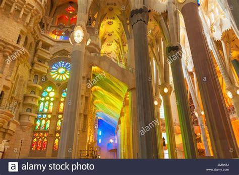 Barcelona Spain Sagrada Familia Stock Photos & Barcelona