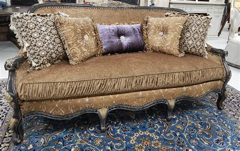 leather sofa victorian style 22 victorian style sofa with a black and gold color theme