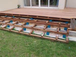 Terrasse En Cumaru Avec Escalier Int 233 Gr 233