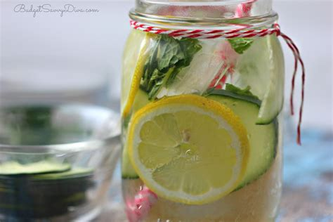 Clear Skin Detox Recipes by Clear Skin Detox Water Recipe Budget Savvy