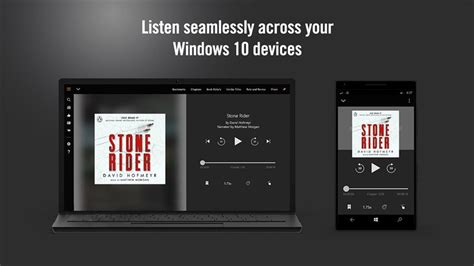 mobile audible audible for audiobooks gets updated on windows 10 mobile