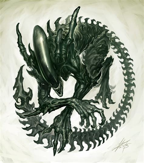 xenomorph tattoo ripley xenomorph prometheus giger space