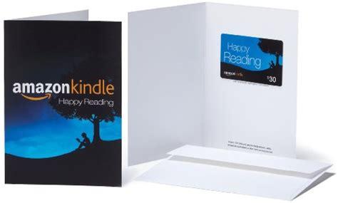 Amazon Kindle Store Gift Card - amazon com 30 gift card in a greeting card amazon kindle design