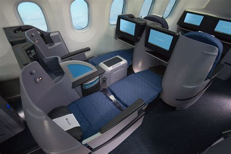 united airlines car seat united adds amenities and new routes to premium transcon