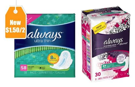 superior pads coupon codes new 1 50 2 always pads liners coupon lots of deals