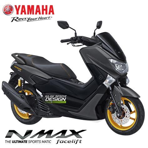 yamaha nmax  hitam kobayogascom  automotive blog