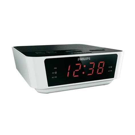 Alarm Clock Philips philips aj3115 digital fm tuning dual alarm clock radio