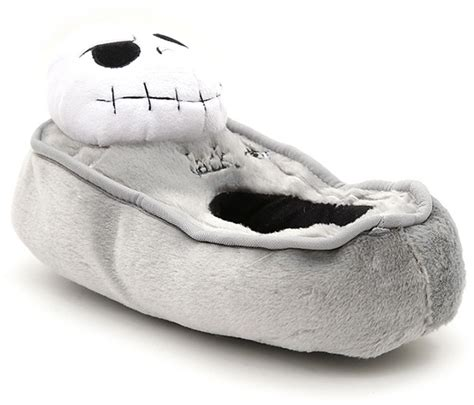 nightmare before zero slippers nightmare before tombstone plush slippers