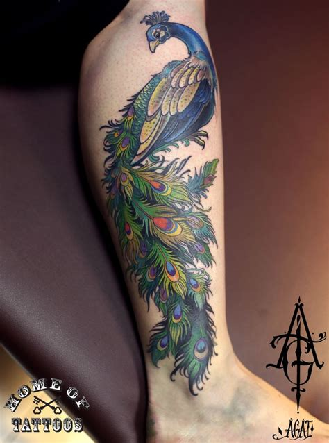 peacock thigh tattoo 86 best images about peacock hummingbird tattoos on