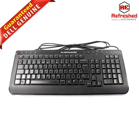 Gaming Wired Keyboard new dell alienware wired usb multimedia gaming keyboard sk 8165 kg100 t1 p90w8