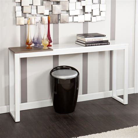 Thin Console Hallway Tables Hallway Furniture Modern White Narrow Console Tables For Narrow Hallway Furniture Ikea
