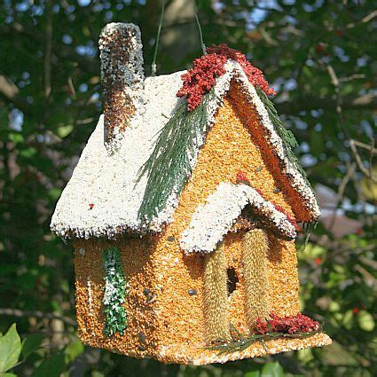 how cute is this holiday house edible birdhouse home for