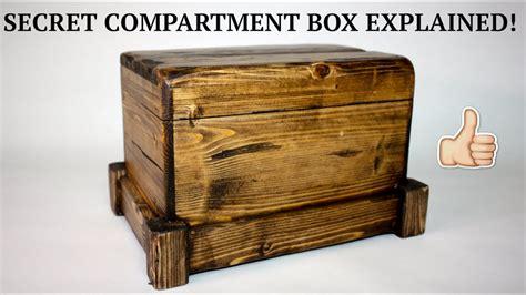 secret compartment box ii youtube