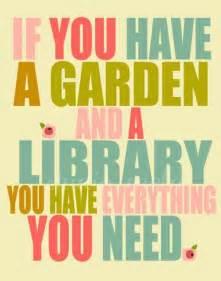 Garden Of Quotes Garden Library Quotes Quotesgram
