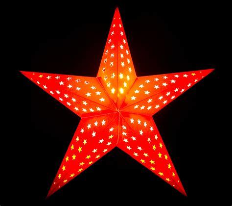 gambar bintang pola merah pohon natal dekorasi natal