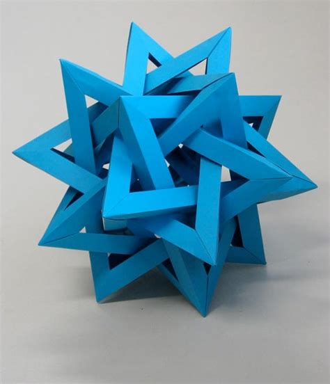 Origami Objects - 20 ingenious origami folded paper creations today in