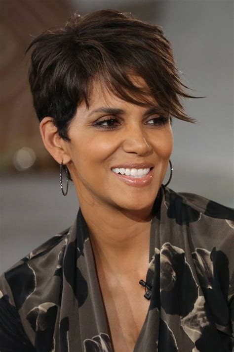 how to get halle berrys pixie cut halle berry is so beautiful outer beauty pinterest