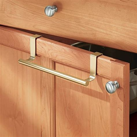 kitchen cabinet towel bar mdesign over the cabinet kitchen dish towel bar holder 9