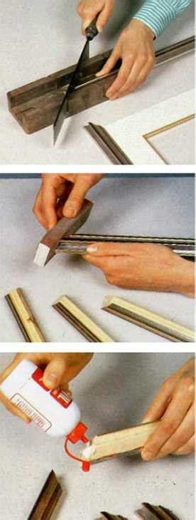 come realizzare cornici fai da te realizzare una cornice fai da te