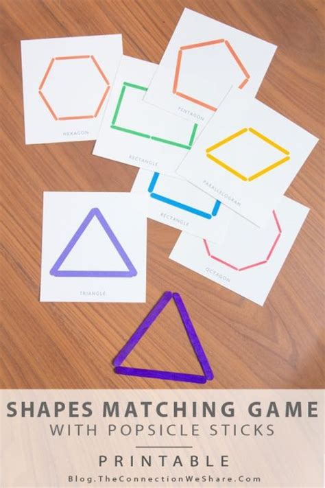 printable shapes matching game shapes matching game and a free printable she amy