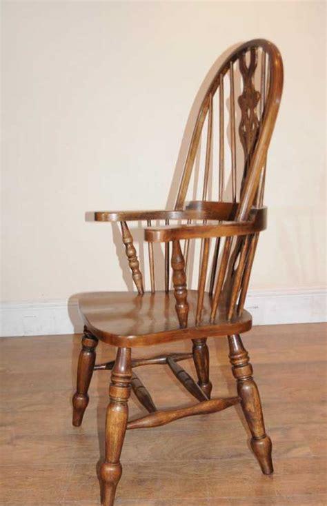 oak armchairs set 6 windsor arm chairs armchairs oak farmhouse ebay