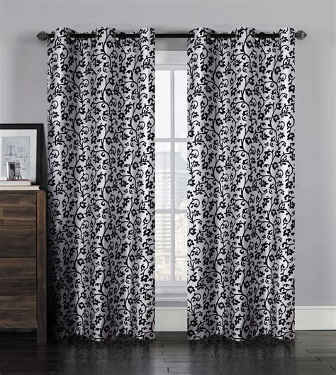 Silver Window Curtains Pair Of Lorien Silver Window Curtain Panels W Grommets