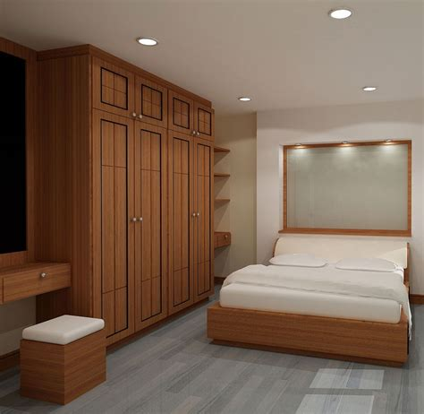 Bedroom Designs With Wardrobe Modern Wooden Wardrobe Designs For Bedroom Picture 15