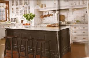 French Country Kitchen Island Country French Belclaire House