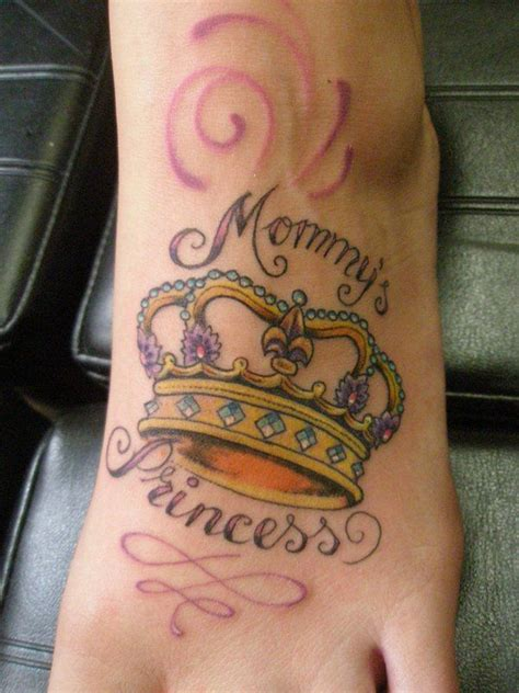 queen tattoo on foot best 25 princess crown tattoos ideas on pinterest name