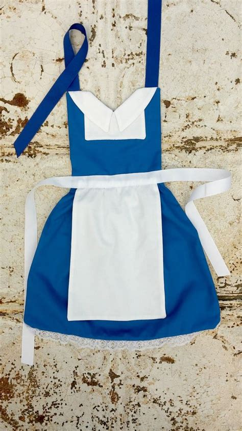 apron pattern princess belle beauty and the beast disney princess inspired child