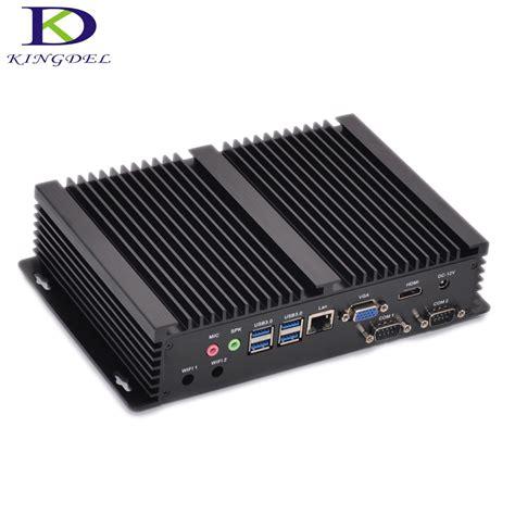 rugged thin client fanless industrial mini pc windows 10 rugged itx aluminum intel i5 4200u htpc tv box